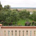 Вид с балкона усадьбы