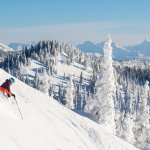 Skiing at Whitefish Mountain Resort.Photo by GlacierWorld.com / Whitefish CVB