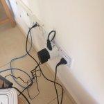 Make-shift plug situation