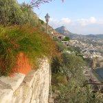 Along the hotel - poolside, drinks terrace, main hotel - towards Sorrento