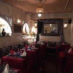 Beautiful Moroccan restaurant.