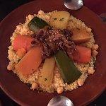 Nice veggie couscous.