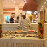 Patissier at the Orhidea restaurant buffet