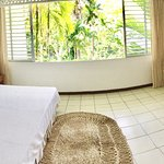 Huge rooms with continuous cross-ventilation of lovely tropical breezes.