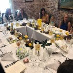 My lemon themed bridal luncheon in the Turret Room