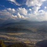 View of Pokhara from Sarangkot View Point