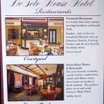 information on the Green Street Tavern at the DeSoto House Hotel