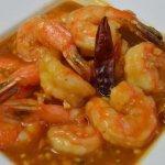 Thick Curry Peanut Sauce Tiger Shrimp