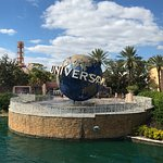 Universal ball in the pond next to CityWalk