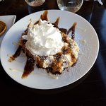 Picture of the Cinnamon Waffle - amazingly sweet!