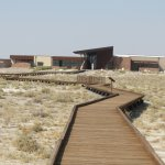 Visitor Center with boardwalk