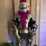Christmas came early to Hedgefield House! That suit of armour is looking fab!