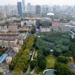 Wonderful view of the French concession