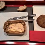 Plateau pris à l'hôtel (Gratin de coquillettes / tatin aux pommes du Val de Loire)