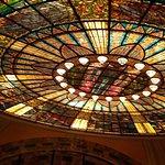 Que tal la belleza del vitral superior del palacio de Bellas artes