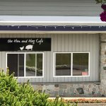 Exterior view of The Hen and Hog Cafe,n 1190 Cliffe Ave, Courtenay, BC