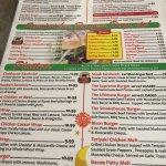 Menu options, Headingley Grill 180 Bridge Rd | Headingly, Headingley, Manitoba