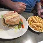 Hamburger and fries, Headingley Grill 180 Bridge Rd | Headingly, Headingley, Manitoba