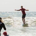 Feel your board gliding along a wave
