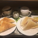 Breakfast Toastie & Coffee