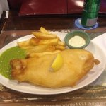 The mushy peas is a bit bland so maybe salt and pepper if you like. The tarter sauce is ok.