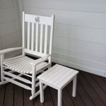 Lots of rocking chairs to relax in scattered around from the balconies to the pool area.