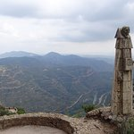 Montserrat: Stations of the Rosary walk - one of the many statues, reliefs and grottos