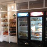 take out section & cold beverages