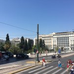 Across from Syntagma square