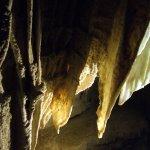 Fan shape stalactites