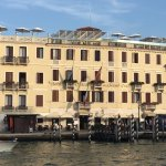 Hotel Carlton on the Grand Canal from the train station