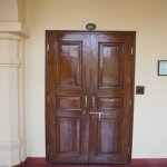 Substantial room entrance