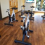 Fitness center: Spin room