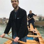 Fun time rowing!