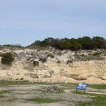 The quarry where Mandela worked