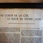ภาพถ่ายของ La Fleur en Papier Dore