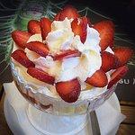 Strawberry Melba.
