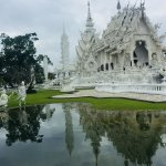 White Temple is a short drive from Nak Nakara
