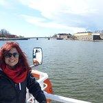 Llegando en barco a la Fortaleza