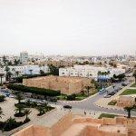 Jolie Ville de Monastir : vue du haut des remparts du Ribat de Monastir