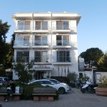 Orka Boutique Hotel in the evening