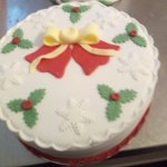 OMG The Christmas Cakes are Amazing ,took one to my Sister and she couldn't Waite to cut it, it
