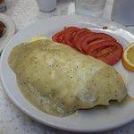 Chile Relleno Stuffed Omelette