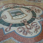 Murals on the floor