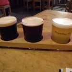 A paddle of ales