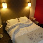 Nous avions reserve une chambre familiale : propre confortable et super literie !
