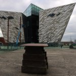 Titanic memorial near where her keel was laid