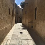 Deep inside Mdina - go as far in as possible