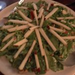 Arugula Pear Salad with Lemon Poppy dressing