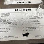 Φωτογραφία: Ox and Finch